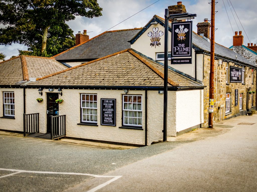 Plume of Feathers pub